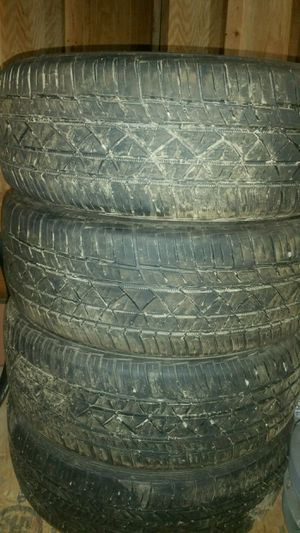 4 tires 215/55/r17 for Sale in Castle Creek, NY