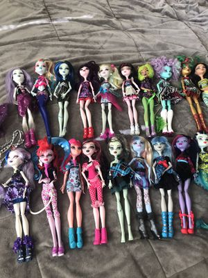 Monster high dolls lot for Sale in Alexandria, VA