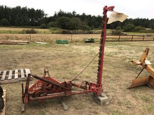 Case 10 Sickle Bar Mower for Sale in Coupeville, WA