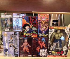 Dragon Ball Z Collectibles (Japanese) for Sale in Waipahu, HI