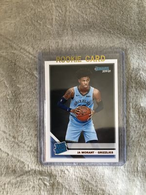 JA MORANT ROOKIE CARD for Sale in Tolleson, AZ