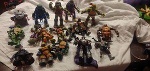 Ninja Turtles Lot 17 figures for Sale in Goodyear, AZ