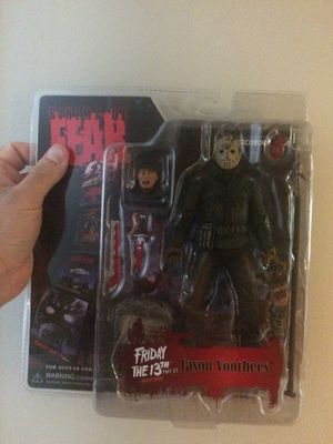 Horror Figures (Jason, Freddy, Leatherface, Nancy) - Brand New for Sale in Whitman, MA