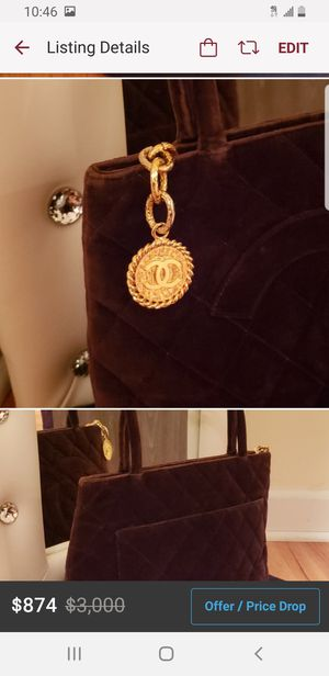 Chanel Tote Bag 100% Authentic Pre-owned for Sale in Chicago, IL