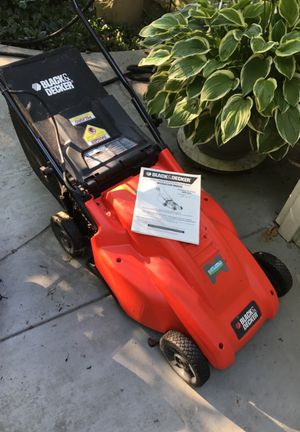 Black&Decker electric mulching lawn mower for Sale in Tigard, OR