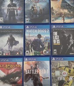 PS4 Games Collection for Sale in Kirkland,  WA