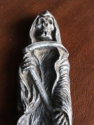 """Grim reaper incense burner , ceramic 12"""" long for Sale in Bradenton, FL"""