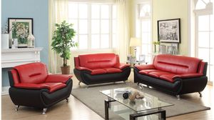 3 PC Red Couch, Loveseat & Chair For $875! for Sale in Nashville, TN