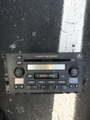 Acura BOSE radio player disk and tape player for Sale in North Potomac, MD
