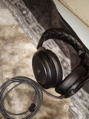 Black corsair headset for Sale in Fresno, CA