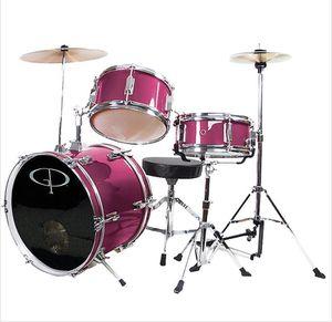 GP Deluxe 3-Piece Junior Drum Set (PINK) for Sale in Monterey Park, CA