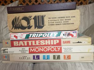 Vintage board games for Sale in Monroeville, PA