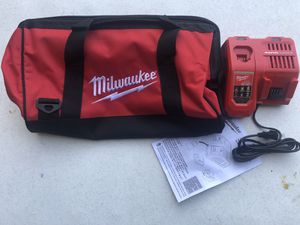 New Milwaukee M18 and M12 Rapid Charger with Bag for Sale in Southaven, MS
