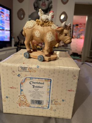 MIB Cherished Teddies Figurine Cow That's What Friends Are For #651095 for Sale in Chula Vista, CA