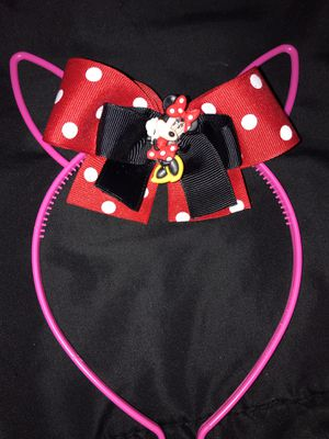 Minnie Mouse bunny ears for Sale in Whittier, CA