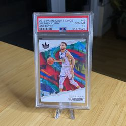 2019 Stephen Curry Panini Court Kings AMETHYST /99 PSA 10. Pop 1! for Sale in San Diego,  CA