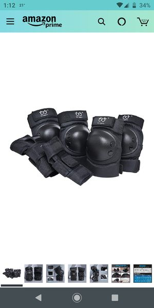 Brand new Knee and Elbow Pads for Kids 5-9 for Sale in Piscataway, NJ