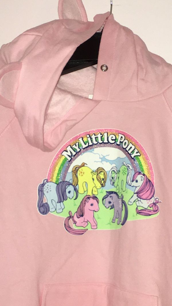 Rare My Little Pony Hoodie Jacket W/Ears✨
