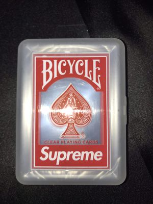Supreme bicycle cards $75 for Sale in Clearwater, FL