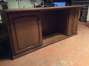Custom made walnut cabinet. for Sale in Pflugerville, TX