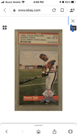 Sammy Sosa baseball card for Sale in Atlanta, GA