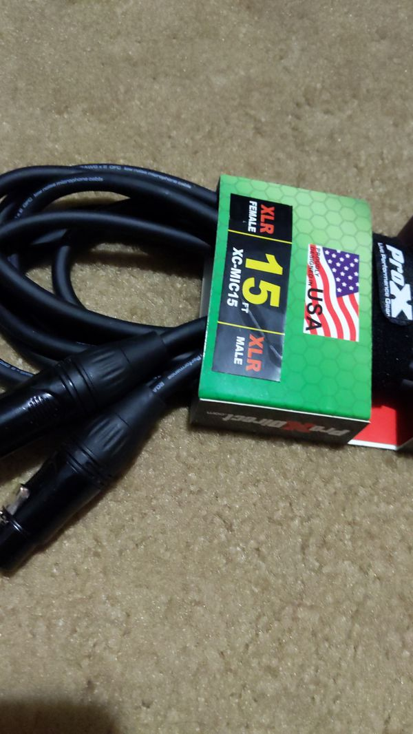 Pro X high performance Audio cable