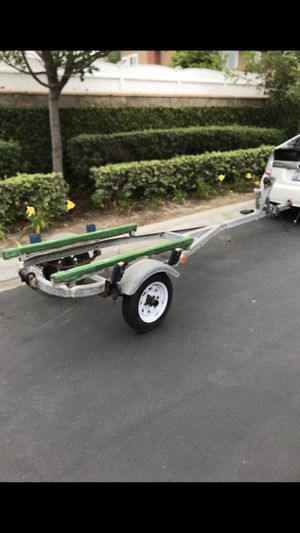 Galvanized boat trailer for 9-15ft boats for Sale in HUNTINGTN BCH, CA