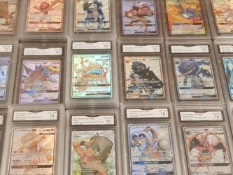Pokemon cards Hidden Fates Shiny Vault Graded for Sale in Kirkland,  WA