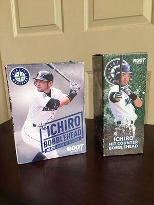 $60 for 2lot of rare Ichiro's bobbleheads for Sale in Bothell, WA