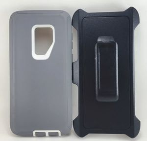 Samsung Galaxy s9 defender type case for Sale in Cedar Hill, TX