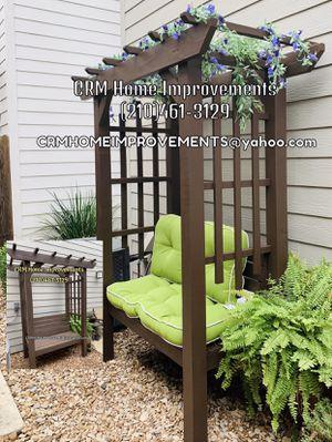 Garden harbor with bench for Sale in San Antonio, TX