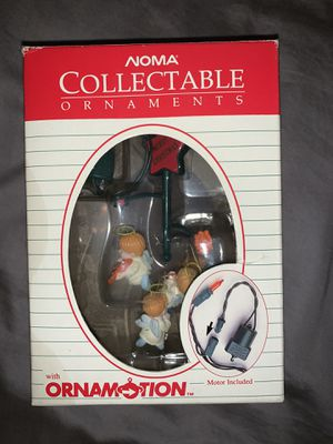 Vintage Noma Ornamotion Collectable Motorized Ornament #2311 for Sale in La Mirada, CA