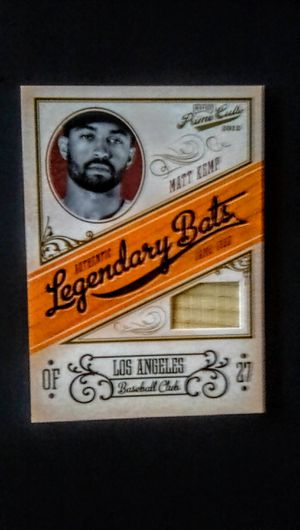 Baseball Cards -- Matt Kemp -- Los Angeles Dodgers -- Relic Card for Sale in Cypress, CA