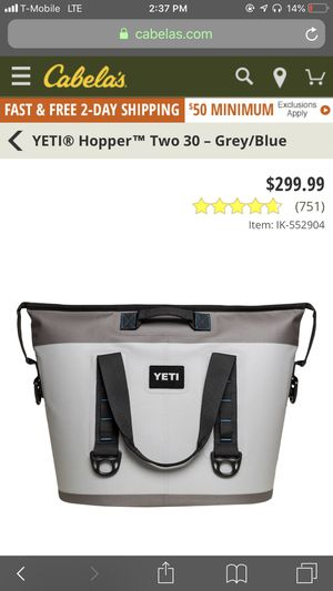 Yeti bag cooler for Sale in Wichita, KS