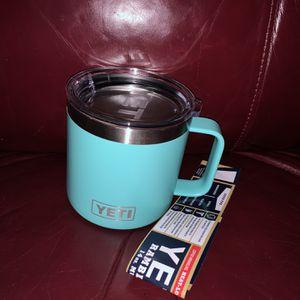 Seafoam Yeti Mug New 18oz for Sale in Johnson City, TN