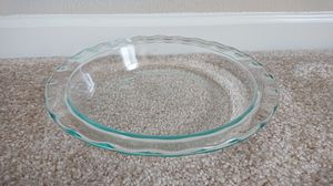 Pyrex glass pie plate for Sale in Foster City, CA