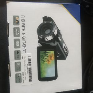 Fhd camcorder with night vision. $50 for Sale in Raleigh, NC