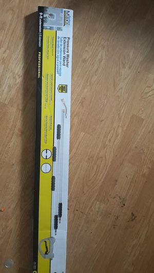 Pressure washer wand 9ft extension for Sale in Modesto, CA