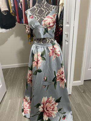 Blue pretty flowers dress for Sale in Marietta, GA