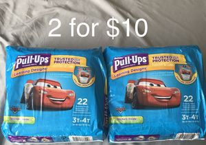 Huggies Pull ups Size 3T-4T for Sale in Chino Hills, CA