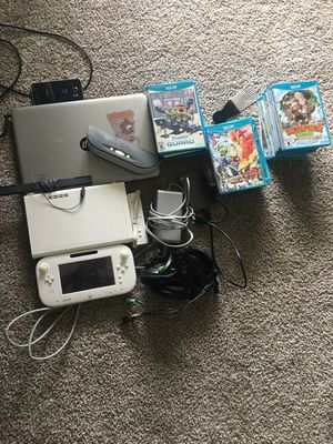 hp labtap a Nintendo u with games n Xbox one headphones for Sale in Tampa, FL