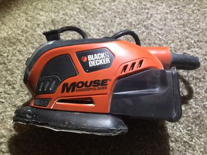 Black & Decker MS800B Mouse Sander With Dust Collection for Sale in Indio, CA