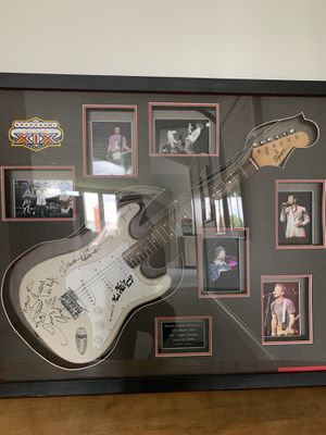 Signed guitar from Arena Bowl XIX for Sale in Oak Park, IL