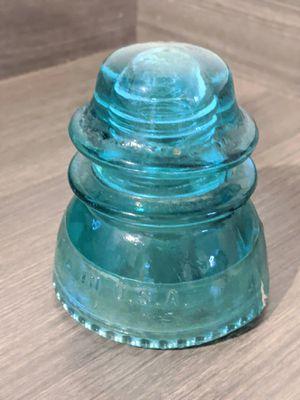 Antique Aqua Blue Glass Insulator for Sale in Vista, CA