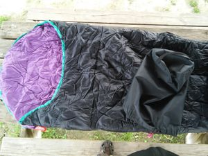 adult mummy sleeping bag w stuff sack 3 season coleman camping hiking 3 available for Sale in Alexandria, VA