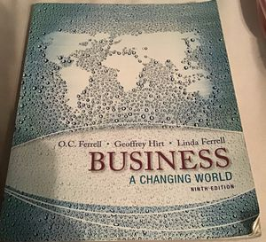 Business- A Changing World 9th Edition for Sale in Brockton, MA