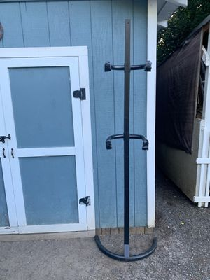BICYCLE RACK, HOLDS 2 BICYCLES, SPACE SAVER, NEW CONDITION for Sale in Vancouver, WA