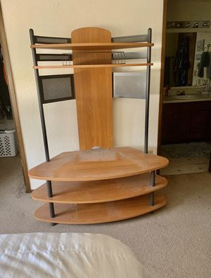 Tv stand organizing shelf for Sale in Everett, WA