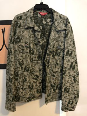 Supreme money jacket XL for Sale in Chicago, IL