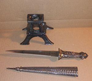 "13"" Eiffel Tower Letter Opener for Sale in Garden City, MI"